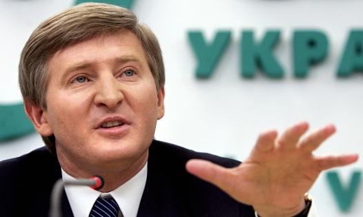 Rinat Akhmetov … Ukraine's richest man.