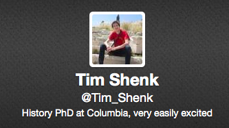 In response to Timothy Shenk (1/2)