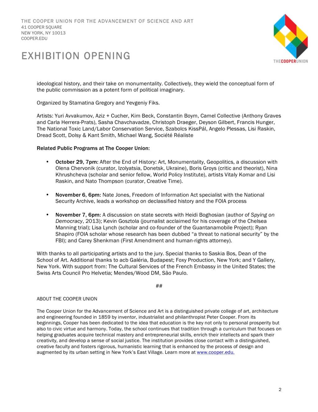 Cold War Exhibit Release-2