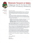 DSA Letter